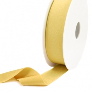 Elastic Ibiza Ribbon 25mm Gold