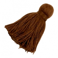 Tassels Ibiza style 4.5cm Chocolate Brown