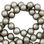 Miracle 3D beads 4mm Taupe
