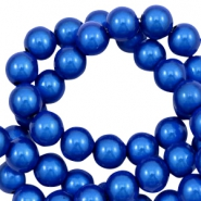 Miracle 3D beads 8mm Cobalt Blue