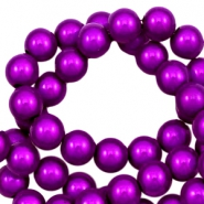 Miracle 3D beads 4mm Purple