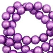 Miracle 3D beads 4mm Lavender Purple