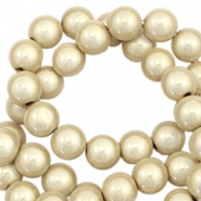 Miracle 3D beads 4mm Champagne Beige