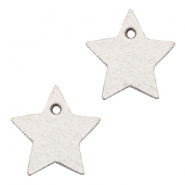 DQ leather charms star Country Grey