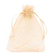 Jewellery Organza Bag 13x18cm Mimosa Peach