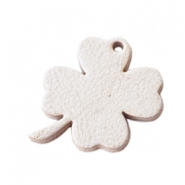 DQ leather charms clover medium Country Grey
