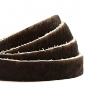 Natural Leather 10mm Dark Brown