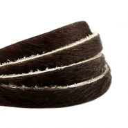Natural Leather 6mm Dark Brown