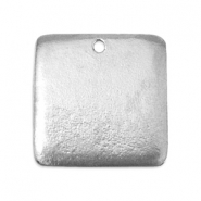 ImpressArt stamping blanks square 24mm Pewter Silver