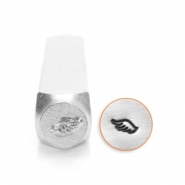 ImpressArt design stamps wing left 6mm Silver