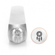 ImpressArt design stamps dream catcher 6mm Silver