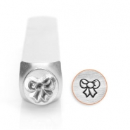 ImpressArt design stamps bow 6mm Silver