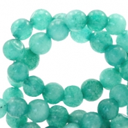 4 mm natural stone beads round Turquoise Green