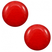 7 mm classic Polaris Elements cabochon Mosso shiny Candy Red