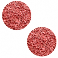 12 mm flat Polaris Elements cabochon Goldstein Candy Red