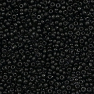Glass seed beads 12/0 (2mm) Black