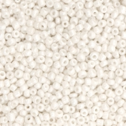Glass seed beads 12/0 (2mm) Off White