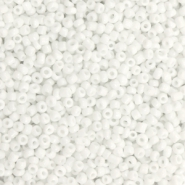 Glass seed beads 12/0 (2mm) White