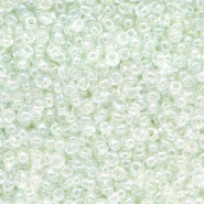 Glass seed beads 12/0 (2mm) Crystal