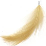 Feathers plush Golden Brown Yellow
