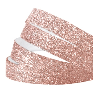 Crystal glitter tape 5mm Rose peach
