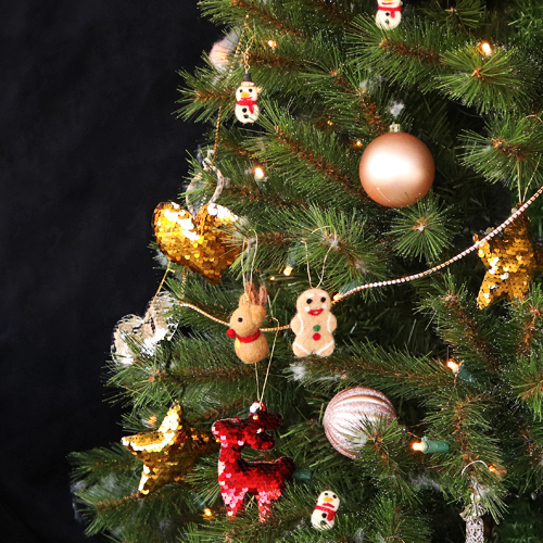 Here you'll learn how to create eye-popping Christmas pendants for your Christmas tree: