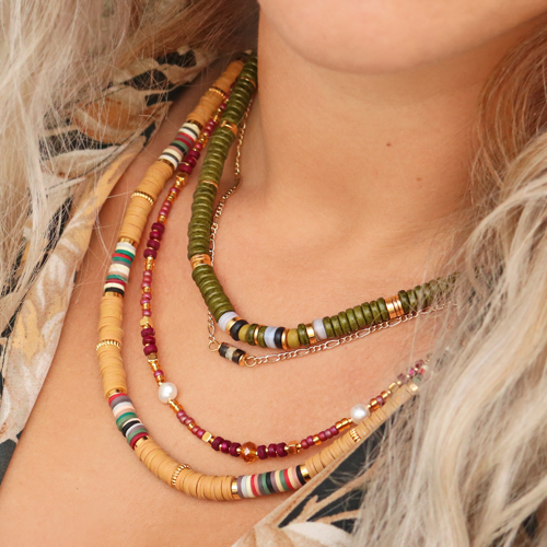 Check out the trendy necklaces you can make for this winter: