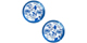 Delft Blue beads