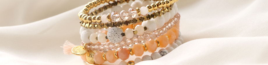 Top faceted beads