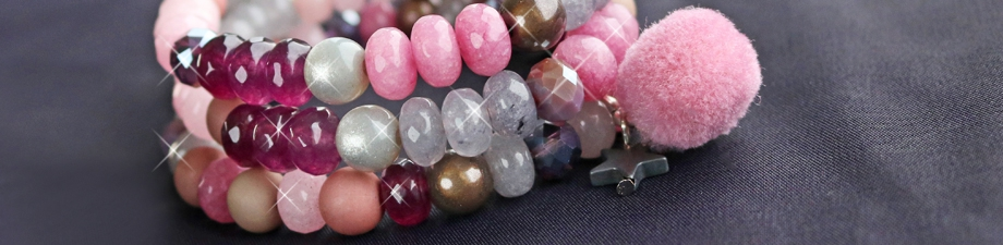 Minimalistic or eyecatchers? New natural stone faceted beads!