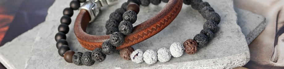 Lava natural stone beads