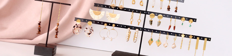 New displays + earring findings