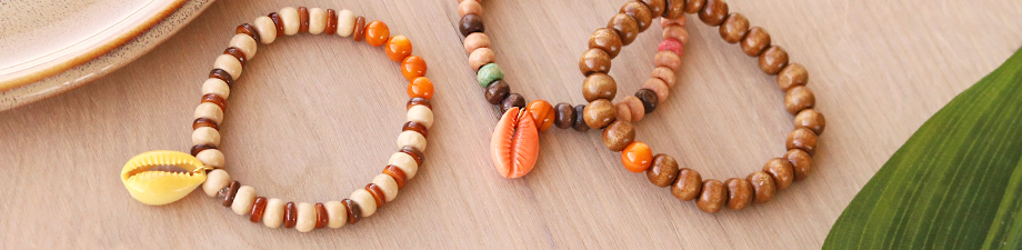 Get it here: new wooden beads