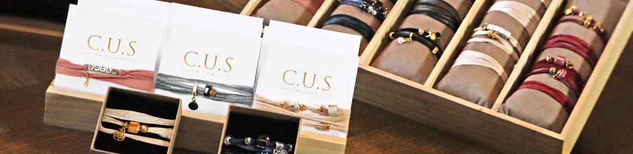 New! C.U.S (Changeable Unique Style) Jewellery Collection