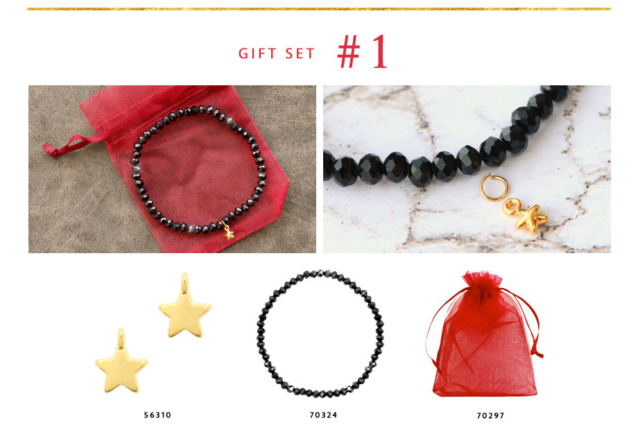 Gift set 1: Stralende top facet armbanden